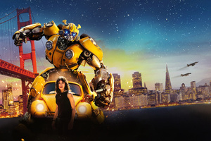Bumblebee Movie 8k