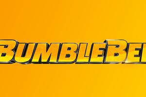 Bumblebee Movie Logo 8k