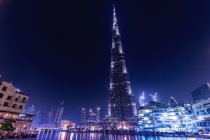 Burj Khalifa Dubai Night Wallpaper
