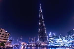 Burj Khalifa Dubai Night Wallpaper