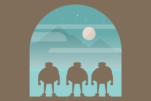 Burly Men At Sea Wallpaper