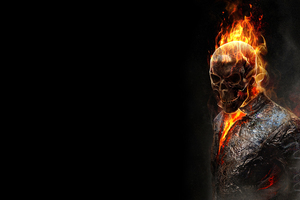 Burning Ghost Rider