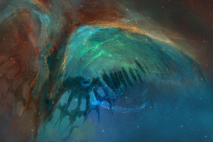 Butterfly Effect Nebula Space Wallpaper