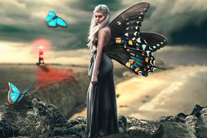 Butterfly Queen Fairy 5k