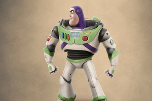 Buzz Lightyear In Toy Story 4 Wallpaper