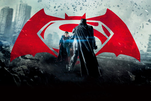 BVS Poster Wallpaper