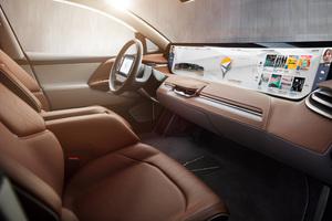 Byton Electric Car Interior Wallpaper