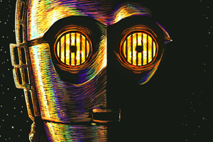 C 3PO Art Wallpaper