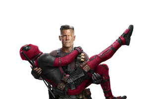 Cable And Deadpool In Deadpool 2 5k Wallpaper