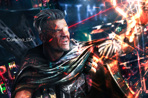 Cable Deadpool 2 4k Artwork Wallpaper