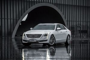 Cadillac CT6 Sedan 2016
