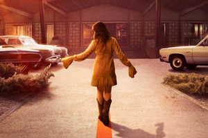 Cailee Spaeny In Bad Times At The El Royale Movie Wallpaper