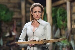 Caity Lotz As Sara Lance In Arrow