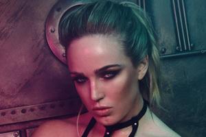 Caity Lotz Fault Magazine Photoshoot