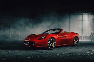 California Ferrari 4k 2019