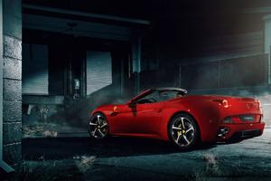 California Ferrari 4k Wallpaper