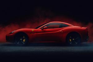 California Ferrari Wallpaper