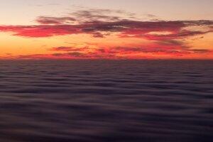California Sea Sky Horizon