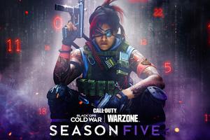 Call Of Duty Black Ops Cold War Kitsune Season 5 Wallpaper