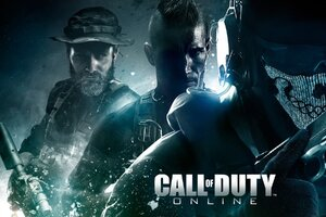 Call Of Duty Online Game Wallpaper