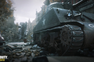 Call Of Duty Ww2 Tank Wallpaper