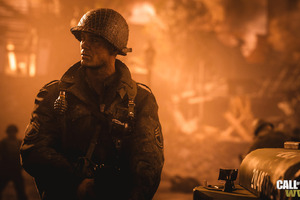 Call Of Duty WWII Soldier Wallpaper