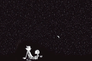 Calvin And Hobbes 4k Wallpaper