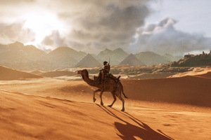 Camel Assassins Creed Origins 8k Wallpaper