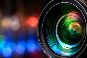 Camera Lens Closeup Wallpaper