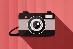 Camera Vector Minimalism 4k 5k