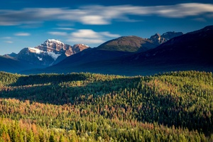 Canada Mountains Forests Parks 4k