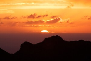 Canary Islands Sunset Wallpaper