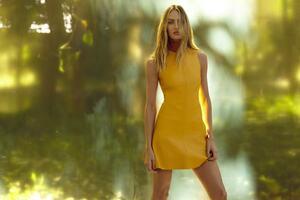 Candice Swanepoel Animales Summer Garden Campaign
