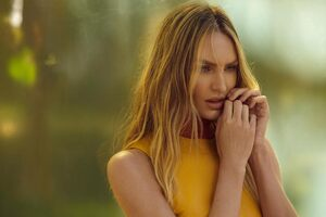 Candice Swanepoel Animales Summer Garden Campaign Photoshoot