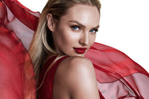 Candice Swanepoel Oppo Campaign