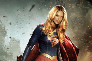 Candice Swanepol Supergirl Wallpaper