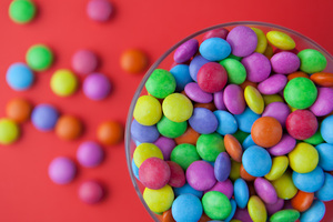 Candy Colorful Bowl Wallpaper