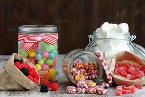 Candy Jar Wallpaper