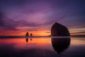 Cannon Beach Sunset Wallpaper