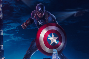 Captain America 2019art Wallpaper
