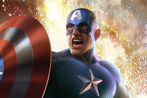 Captain America 2020 Art New Wallpaper