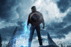 Captain America 4k 2020 Wallpaper