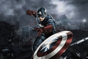 Captain America 4k Artworks Wallpaper