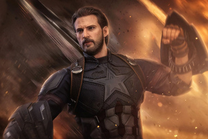 Captain America 4k Avengers Wallpaper