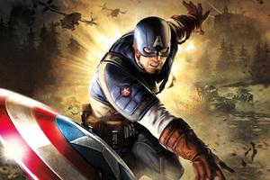 Captain America 5k Artwork
