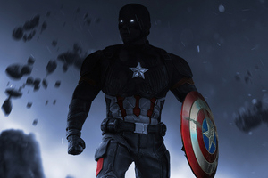 Captain America After Storm 4k Wallpaper