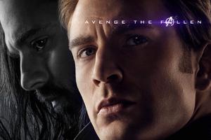 Captain America And Bucky Barnes In Avengers Endgame 2019