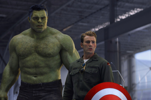 Captain America And Hulk Time Travel Avengers End Game