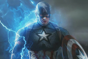 Captain America Angry Wallpaper