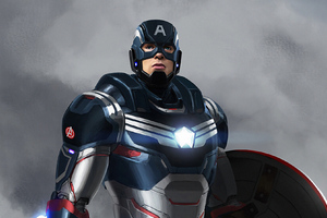 Captain America Armored